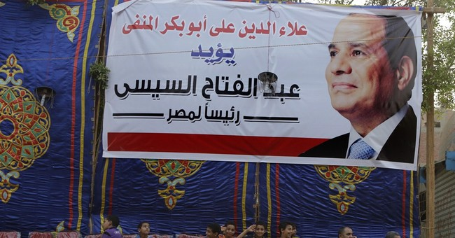 102 sentenced as Egypt's presidential race starts