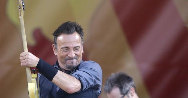 Bruce Springsteen at 2014 Jazz Fest