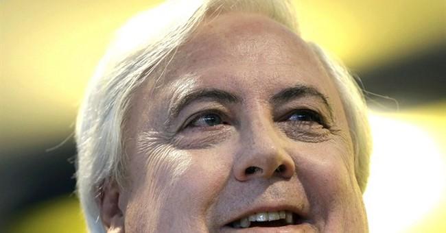 Aussie millionaire primes for political spotlight