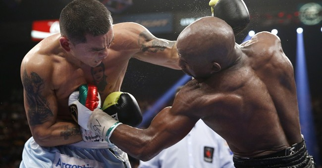 Argentina uses boxing match to spot tax dodgers