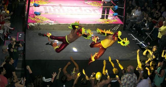 LA stage show fuses Mexican wrestling, striptease