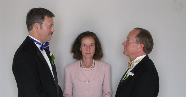 1st openly gay Episcopal bishop to divorce husband