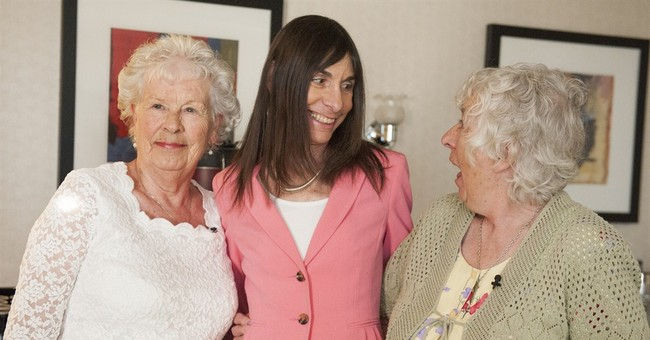 Twin sisters reunite after 78 years apart