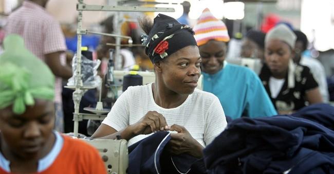 Haiti raises minimum wage for apparel workers