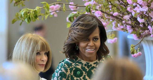 Michelle Obama inaugurates new Met costume center