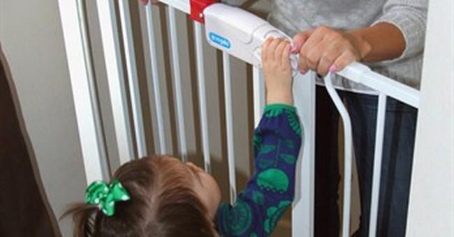 Baby safety gates aren't always safe, study finds