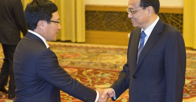 China refuses Vietnam's call to stop oil drilling