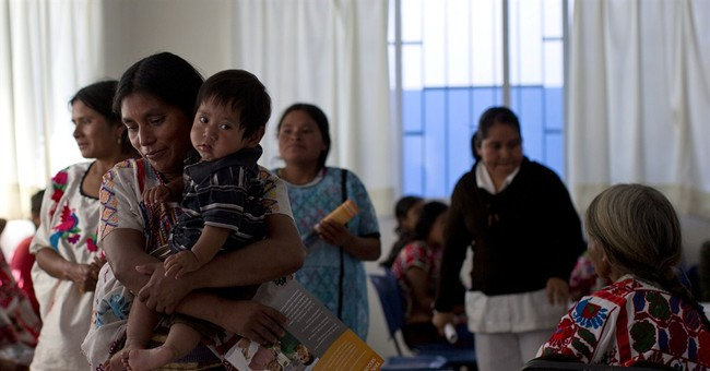 Mexico anti-poverty fund draws line at 3 children