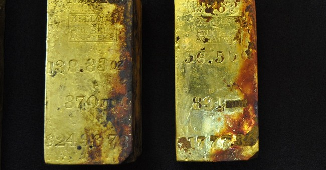 1K ounces of gold recovered from sunken ship