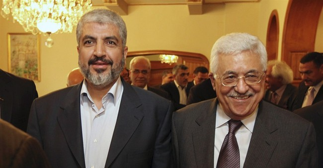 Rival Palestinian leaders discuss reconciliation