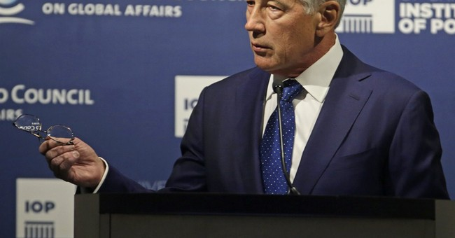 Hagel talks of tough defense choices after war