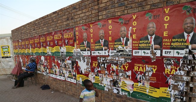 South Africa's ruling party poised for win