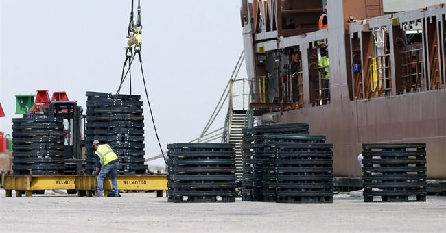 US trade deficit drops 3.6 percent in March