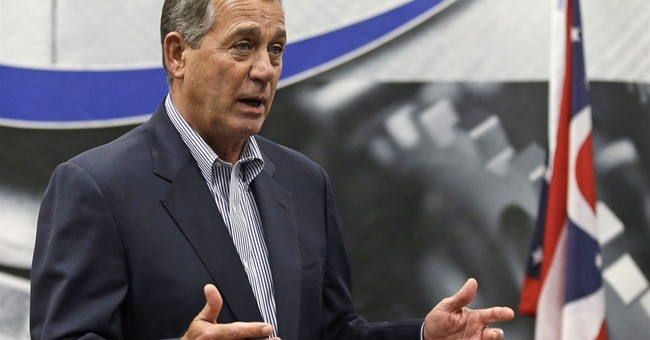 Boehner to face college professor in US House bid