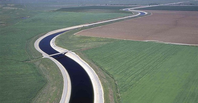 Water flows uphill? Maybe, in California drought