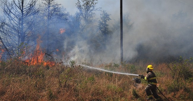 Oklahoma wildfire about 90 percent contained