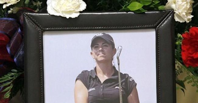 Vegas jury hears pro golfer's suicide note blame