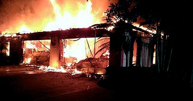 Police: Fire at Florida home was arson; 4 dead