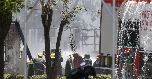 Fire, blast at Philippine army barracks injure 24