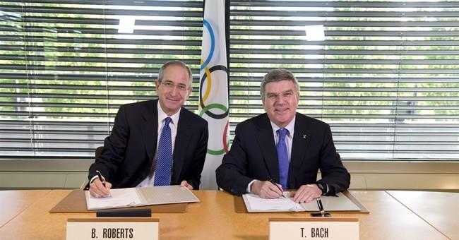 Big money, secret talks produce Olympic TV deal