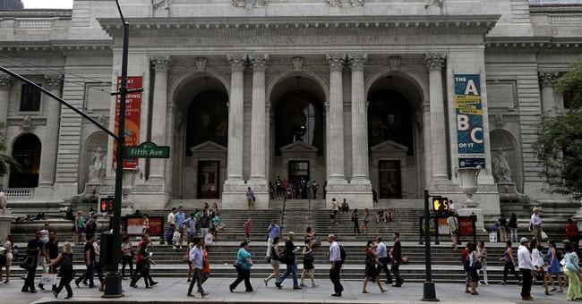 NY library shelves revamp, won't move 1.5M books