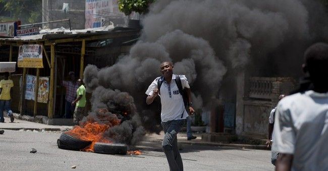 Haitian students protest over canceled classes