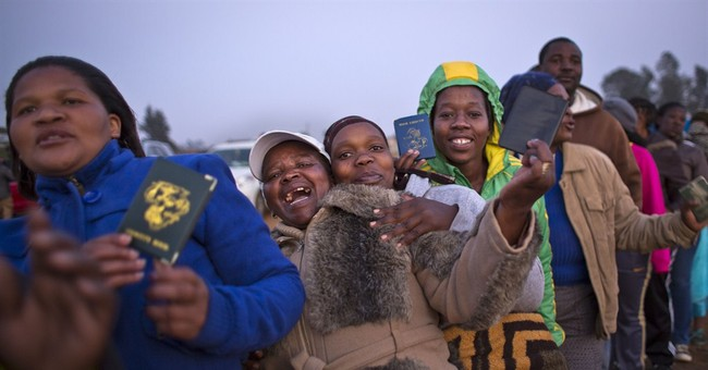 South Africa's voting ends, counting starts
