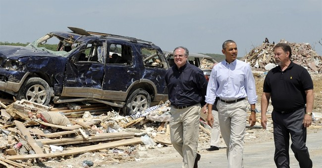 Obama: US will help Arkansas rebuild after storms