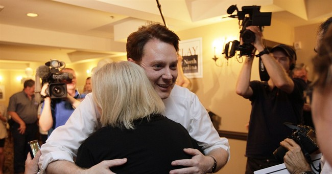 Primary featuring Clay Aiken too close to call