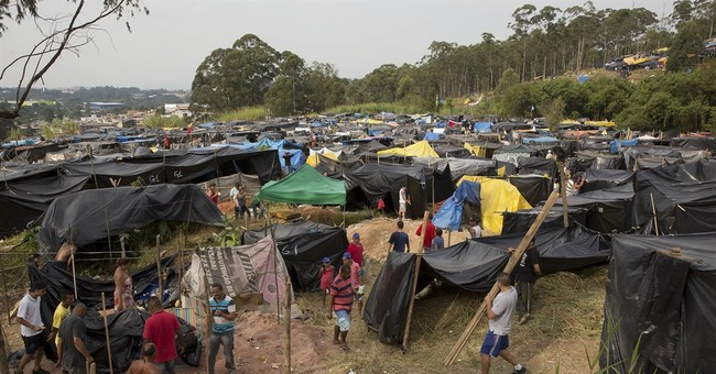 Homeless blame World Cup for high rent in Brazil