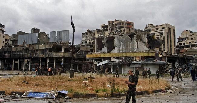 Syrians return to damaged homes after rebels leave