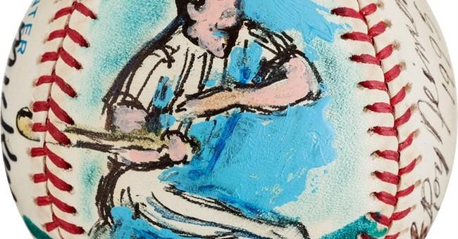 Original LeRoy Neiman baseball art up for auction