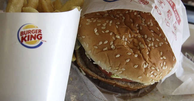 Burger King offers burgers for breakfast