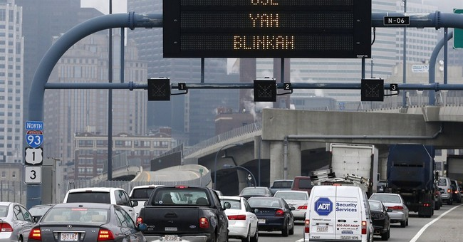 Boston drivers urged to 'Use Yah Blinkah'