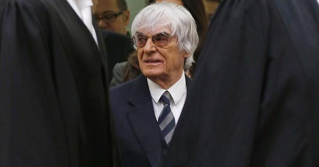 German banker testifies in Ecclestone bribery case