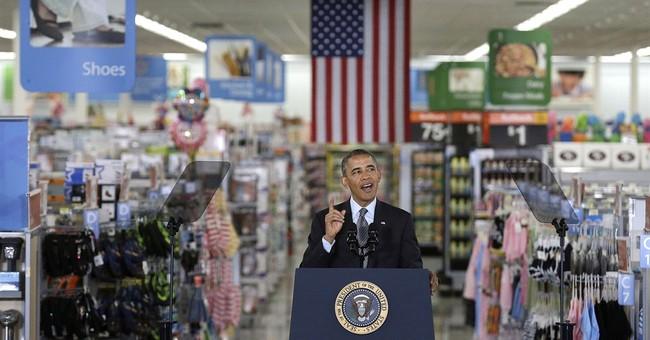 At Wal-Mart, Obama praises steps on solar power