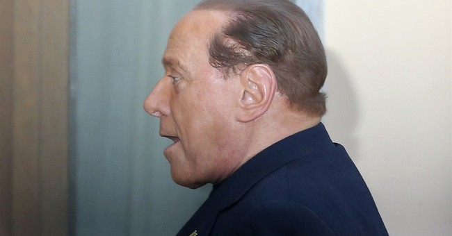 Berlusconi begins community service