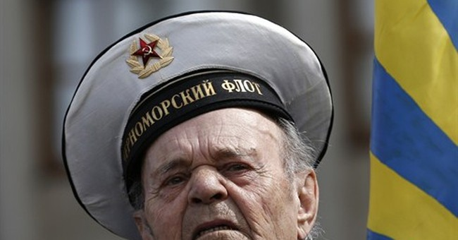 AP PHOTOS: Victory Day from Red Square to Crimea