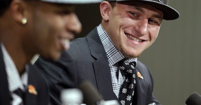 Browns not guaranteeing Manziel starting job