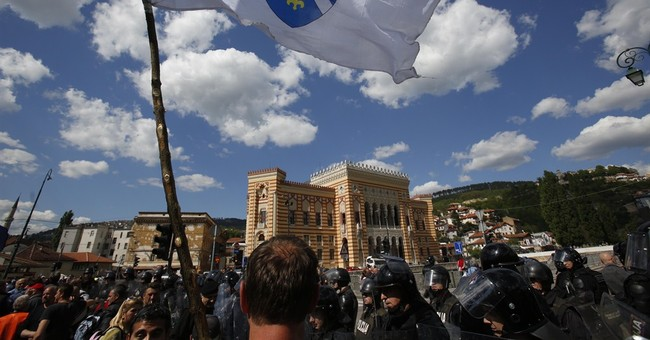 Bosnia reopens once-destroyed Sarajevo Library