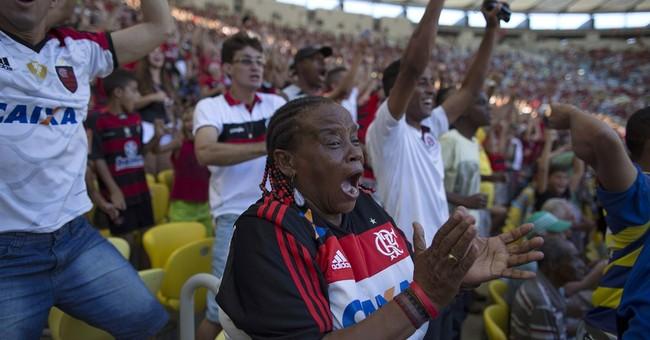 AP PHOTOS: The die-hard fan of Brazil's Flamengo