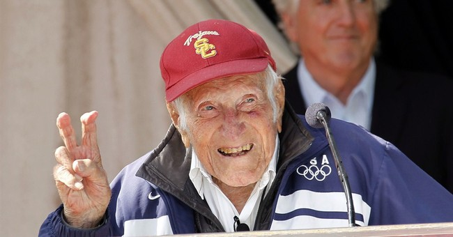 War hero, Olympian Zamperini to lead Rose Parade
