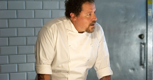 Favreau dishes on how to make a good foodie film