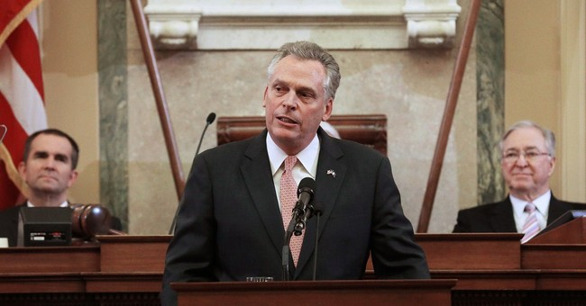 Va. Gov McAuliffe sets priorities before lawmakers