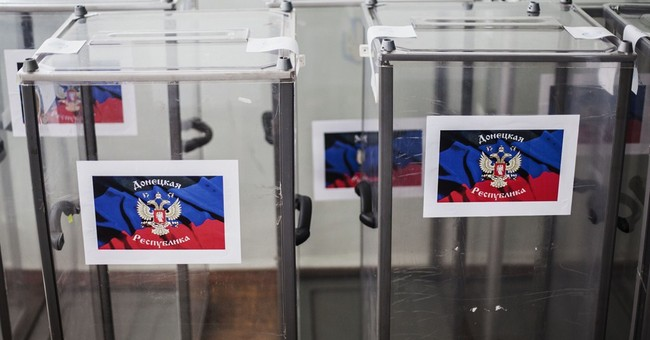 2 Ukraine regions prepare to vote on sovereignty