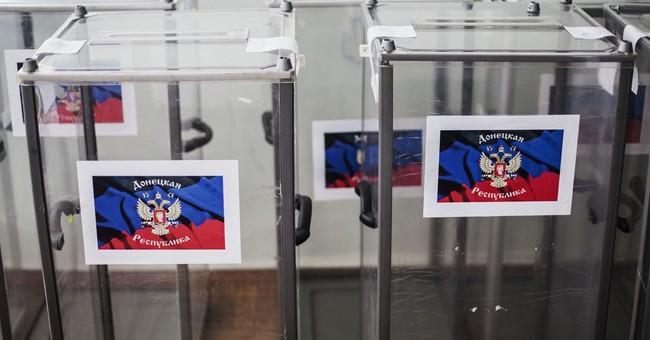 2 Ukraine regions prepare to vote on sovereignty
