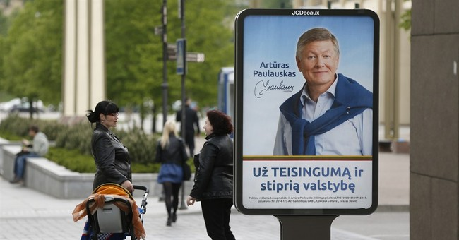 Incumbent favorite in Lithuania presidential vote