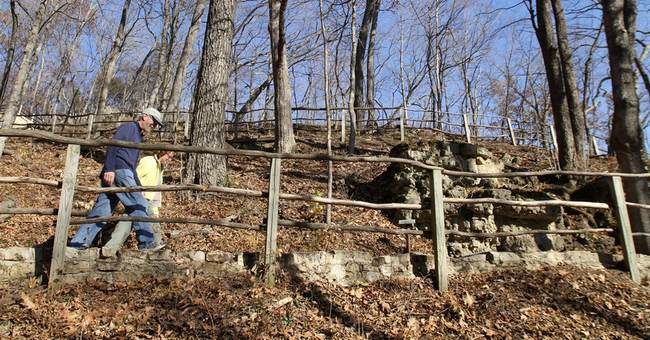 Illegal Park Service projects damage sacred site
