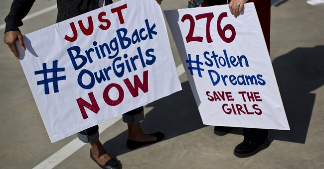Can a hashtag offer any help to abducted girls?