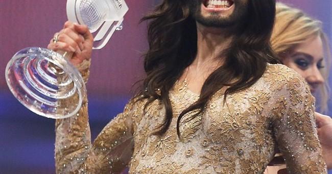 Austrian drag queen wins Eurovision song contest